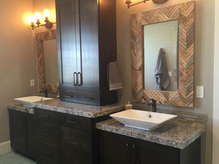 Utah Granite Countertops Double Vanity