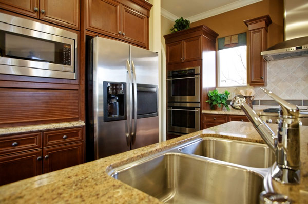 Granite Countertops light Undermount Sink