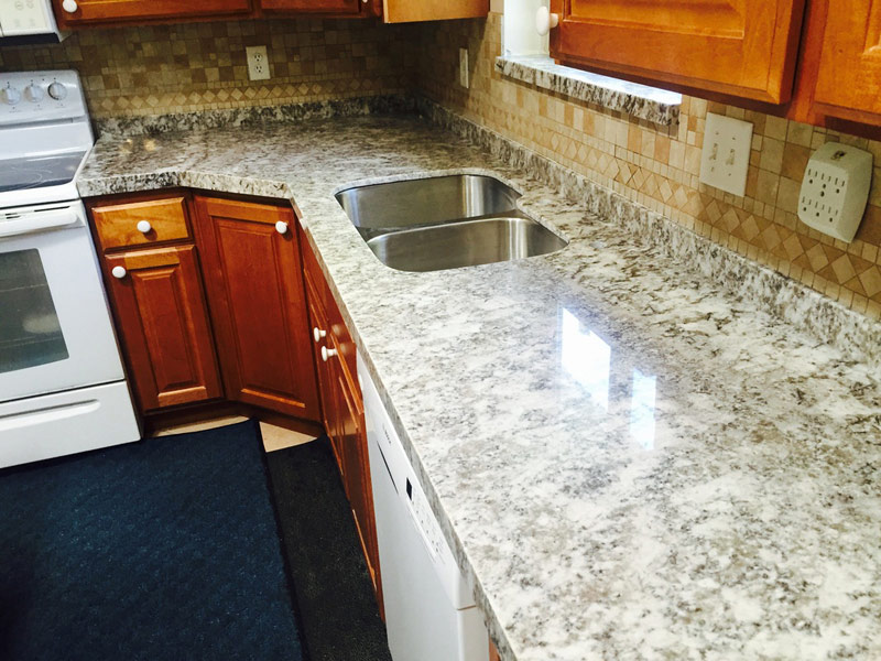 Grey Granite Kitchen